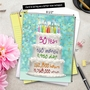 Creative Milestone Birthday Jumbo Printed Greeting Card From NobleWorksCards.com - 30 Year Time Count image 6