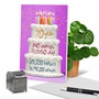 Stylish Milestone Birthday Paper Card From NobleWorksCards.com - 70 Year Time Count image 6