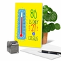Funny Milestone Birthday Paper Greeting Card From NobleWorksCards.com - 80 In Celsius image 5