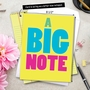 Humorous Blank Jumbo Printed Card from NobleWorksCards.com - A Big Note image 6