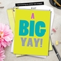 Hysterical Blank Jumbo Paper Card from NobleWorksCards.com - A Big Yay! image 6
