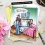 Funny Get Well Jumbo Printed Card by Tom Cheney from NobleWorksCards.com - A$$ Out Of Bed image 6