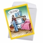 Stylish Get Well Jumbo Card By Tom Cheney From NobleWorksCards.com - A$$ Out Of Bed image 2