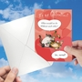 Hilarious Galentine's Day Printed Greeting Card By Jamie Charteris From NobleWorksCards.com - Abnormal Friends image 3