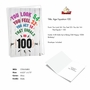 Hysterical Milestone Birthday Printed Card From NobleWorksCards.com - Age Equation-100 image 2