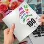 Hysterical Milestone Birthday Printed Card From NobleWorksCards.com - Age Equation-100 image 3