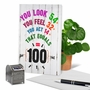 Hysterical Milestone Birthday Printed Card From NobleWorksCards.com - Age Equation-100 image 6