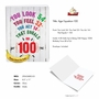 Hysterical Milestone Birthday Jumbo Printed Card From NobleWorksCards.com - Age Equation-100 image 2