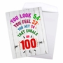 Hysterical Milestone Birthday Jumbo Printed Card From NobleWorksCards.com - Age Equation-100 image 3