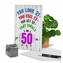Hilarious Milestone Birthday Greeting Card From NobleWorksCards.com - Age Equation-50 image 6