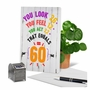 Funny Milestone Birthday Card From NobleWorksCards.com - Age Equation-60 image 6