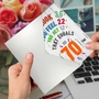 Funny Milestone Birthday Card From NobleWorksCards.com - Age Equation-70 image 3