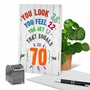 Funny Milestone Birthday Card From NobleWorksCards.com - Age Equation-70 image 6