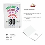 Hilarious Milestone Birthday Greeting Card From NobleWorksCards.com - Age Equation-80 image 2