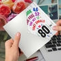 Hilarious Milestone Birthday Greeting Card From NobleWorksCards.com - Age Equation-80 image 3