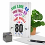 Hilarious Milestone Birthday Greeting Card From NobleWorksCards.com - Age Equation-80 image 6