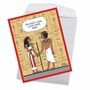 Hysterical Birthday Jumbo Greeting Card By Maria Scrivan From NobleWorksCards.com - Ancient Compliment image 3