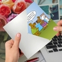 Hilarious Sorry Greeting Card By Kenneth Benner From NobleWorksCards.com - Angry Hibernation image 3