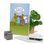 Hilarious Sorry Greeting Card By Kenneth Benner From NobleWorksCards.com - Angry Hibernation image 6