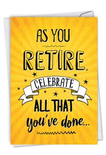 As You Retire Card