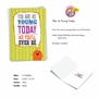 Humorous Birthday Paper Card From NobleWorksCards.com - As Young Today image 2