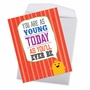 Hilarious Birthday Jumbo Greeting Card From NobleWorksCards.com - As Young Today image 3