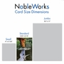 Stylish Retirement Paper Greeting Card From NobleWorksCards.com - Aspirations image 5