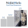 Creative Friendship Jumbo Printed Card From NobleWorksCards.com - Aspirations - Cat image 4
