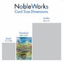 Stylish Graduation Paper Greeting Card From NobleWorksCards.com - Aspirations - Caterpillar image 4