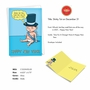 Humorous New Year Paper Card By Jason Katzenstein From NobleWorksCards.com - Baby New Year - 2020 image 2
