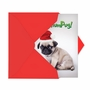 Humorous Merry Christmas Card From NobleWorksCards.com - Bah HumPug image 2