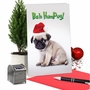 Humorous Merry Christmas Card From NobleWorksCards.com - Bah HumPug image 5