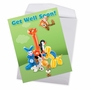 Creative Get Well Jumbo Printed Greeting Card From NobleWorksCards.com - Balloon Babies image 2