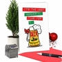 Humorous Merry Christmas Card From NobleWorksCards.com - Beer Time image 5