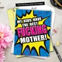 Funny Mother's Day Jumbo Paper Greeting Card from NobleWorksCards.com - Best F-king Mother image 6