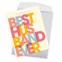 Humorous Birthday Jumbo Paper Card By Offensive+Delightful From NobleWorksCards.com - Best Husband Ever image 3
