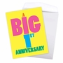 Funny Milestone Anniversary Jumbo Paper Greeting Card From NobleWorksCards.com - Big 1 image 3