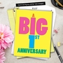 Funny Milestone Anniversary Jumbo Paper Greeting Card From NobleWorksCards.com - Big 1 image 6