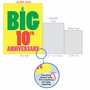 Humorous Milestone Anniversary Jumbo Card From NobleWorksCards.com - Big 10 image 5