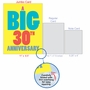 Hilarious Milestone Anniversary Jumbo Printed Greeting Card From NobleWorksCards.com - Big 30 image 5