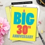 Hilarious Milestone Anniversary Jumbo Printed Greeting Card From NobleWorksCards.com - Big 30 image 6