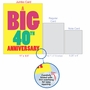 Humorous Milestone Anniversary Jumbo Card From NobleWorksCards.com - Big 40 image 5