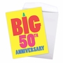 Hysterical Milestone Anniversary Jumbo Greeting Card From NobleWorksCards.com - Big 50 image 3