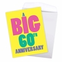 Humorous Milestone Anniversary Jumbo Card From NobleWorksCards.com - Big 60 image 3