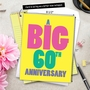 Humorous Milestone Anniversary Jumbo Card From NobleWorksCards.com - Big 60 image 6