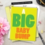 Funny Baby Jumbo Printed Card from NobleWorksCards.com - Big Baby Bump image 6