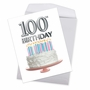 Creative Milestone Birthday Jumbo Printed Card From NobleWorksCards.com - Big Day 100 image 2