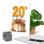 Creative Milestone Anniversary Printed Greeting Card From NobleWorksCards.com - Big Day 20 image 6