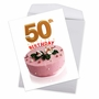 Stylish Milestone Birthday Jumbo Paper Greeting Card From NobleWorksCards.com - Big Day 50 image 2
