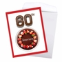 Creative Milestone Anniversary Jumbo Greeting Card From NobleWorksCards.com - Big Day 60 image 3